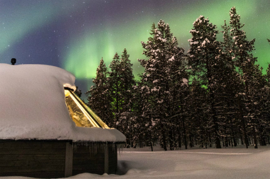 Glass-Roof Aurora Cabins(From Official)3
