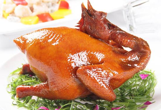脆皮金雞宴