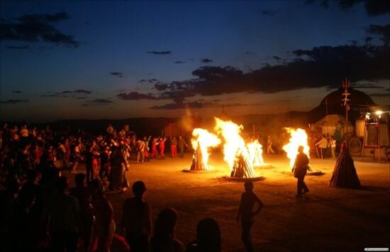 草原之夜篝火晚會