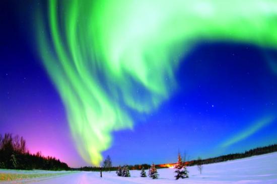 乘馬車追蹤北極光