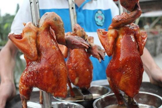 脆皮棟企燒雞