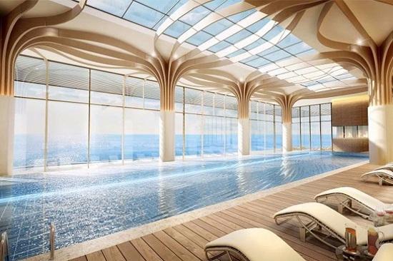 Hilton Hotel 室內泳池