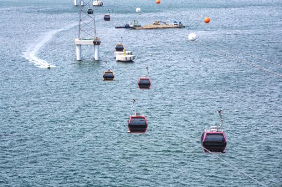 松島天空海上纜車