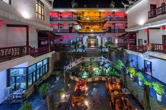 芙蓉鎮邊城故事文化主題酒店