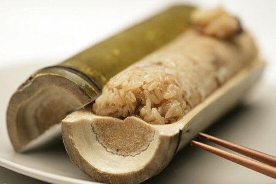 客家風味竹筒飯宴