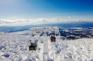 地藏山頂樹冰