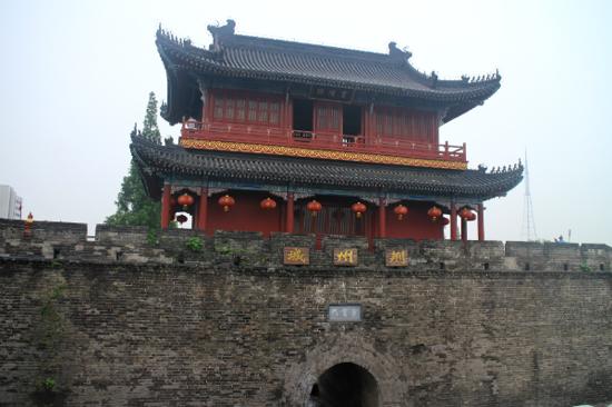 荊州古城牆