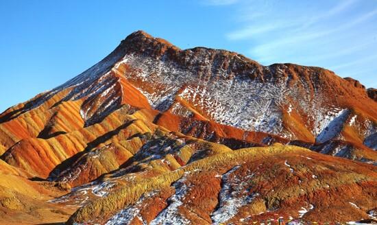 張掖丹霞地質公園