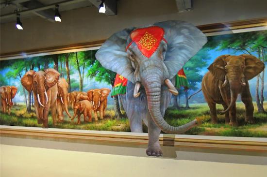 芭堤雅3D神奇視覺美術館