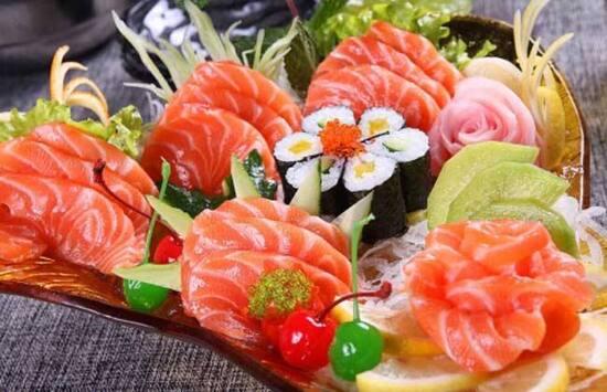 三文魚海鮮自助晚餐