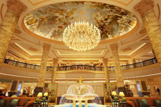 新華聯麗景溫泉酒店溫泉-大堂
