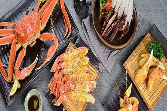 釜山【大蟹宮】料理