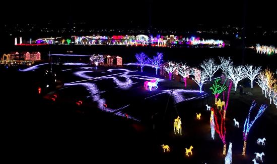 慶南賽馬公園illumia夜燈祝祭