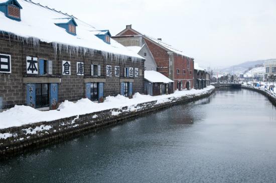小樽運河冬天