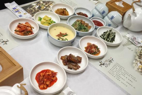 沈父子飯桌韓定食