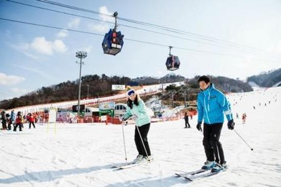 洪川大明滑雪埸