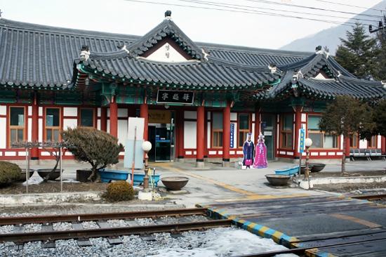 全韓最美車站之一「寧越站」