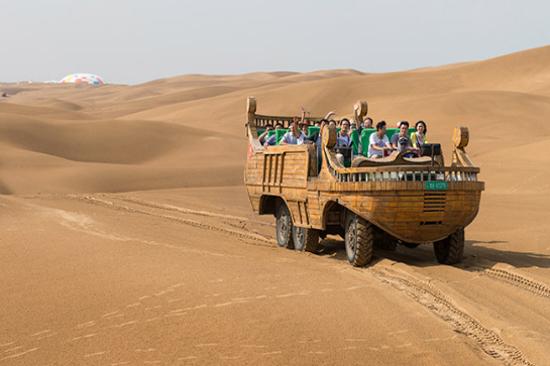 庫布其沙漠~響沙灣