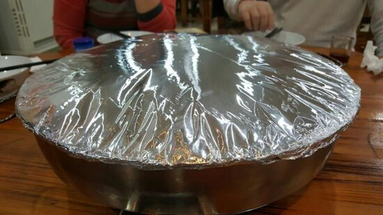 肥佬巧手炊脹盤雞宴