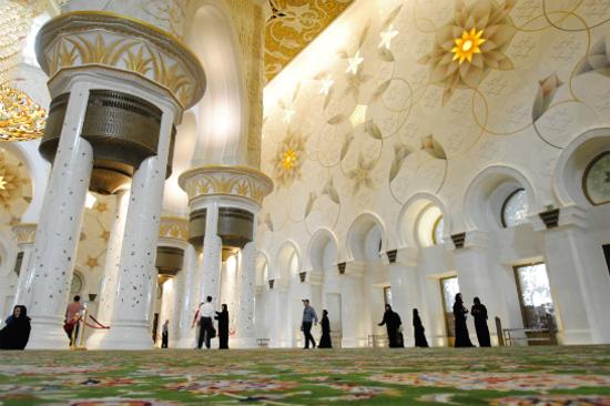 阿布達比大清真寺5