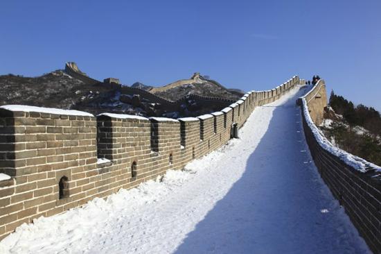 八達嶺長城冬天