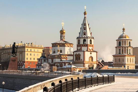 伊爾庫茨克~東正教堂