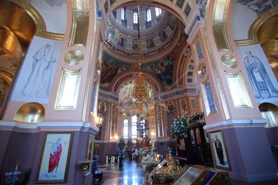 喀山教堂內觀