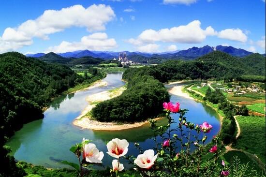 韓半島地形「仙岩村」