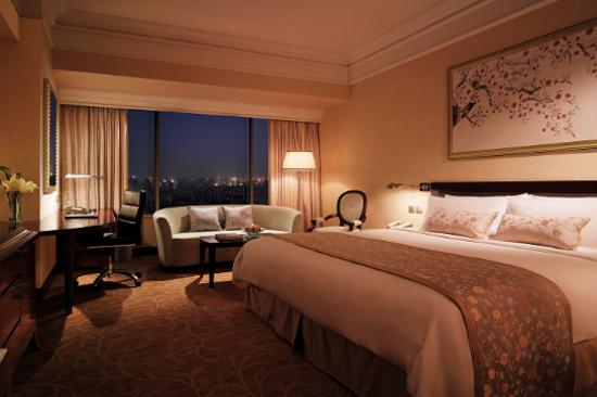 武漢香格里拉大酒店客房