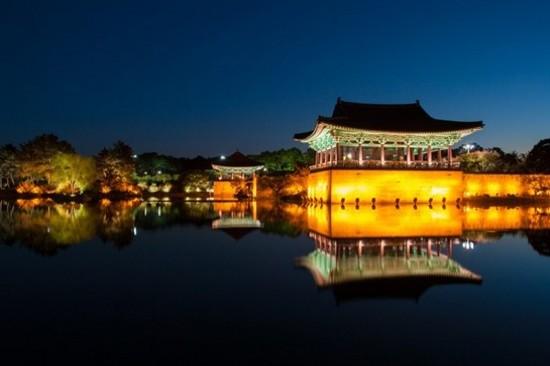 書出池~夜遊雁鴨池
