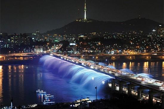 漢江盤浦大橋~三島