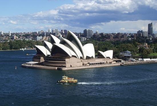 悉尼歌劇院(From Pixabay)