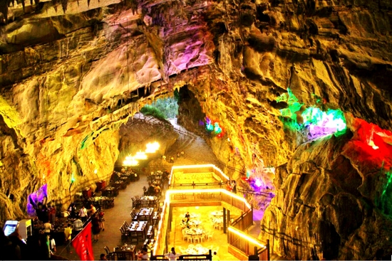 禾田居洞穴餐廳
