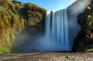 斯科加瀑布(森林瀑布)
