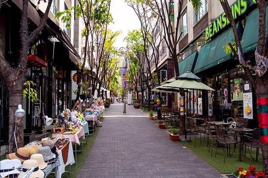 寶亭洞咖啡街