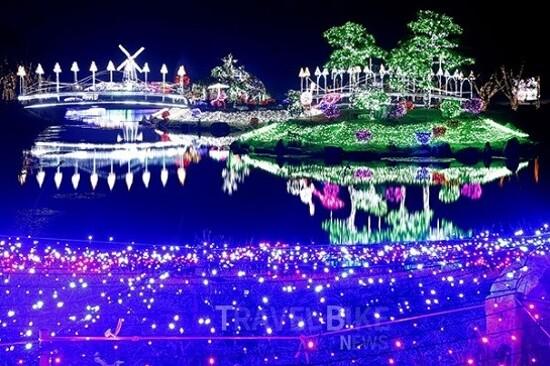 泰安Nature World(賞夜燈祝祭)
