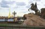 聖彼得堡_彼得大帝騎馬銅像