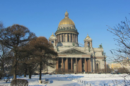 聖埃薩大教堂(雪景)2