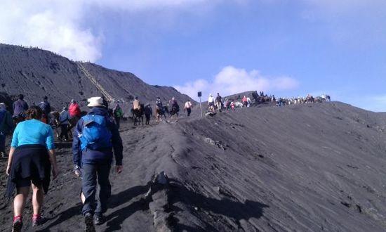 婆羅摩火山