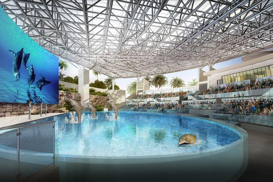 Atlantis Sanya Hotel-海豚灣内景