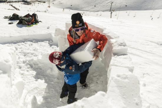 皇后鎮-輕鬆玩雪體驗
