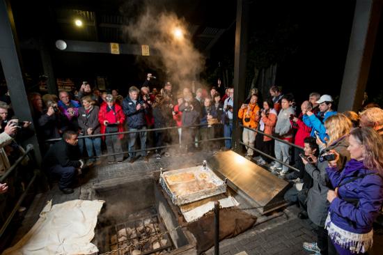 蒂普瓦毛利文化及地熱保護區之傳統晚餐2