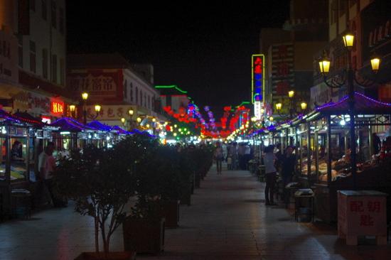 敦煌沙洲夜市