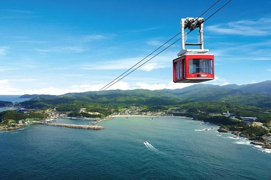 莊湖港海上纜車體驗