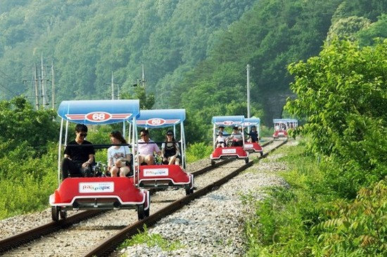 原州Rail Bike +觀光火車體驗