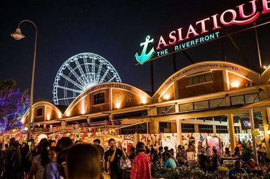 曼谷夜市Asiatique The Rivefront