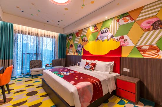 熊貓主題親子酒店