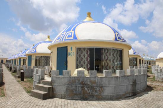 古烈延城堡空調型蒙古包