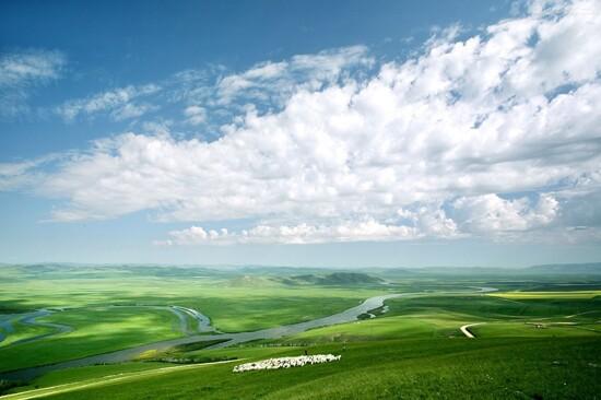 希拉穆仁大草原