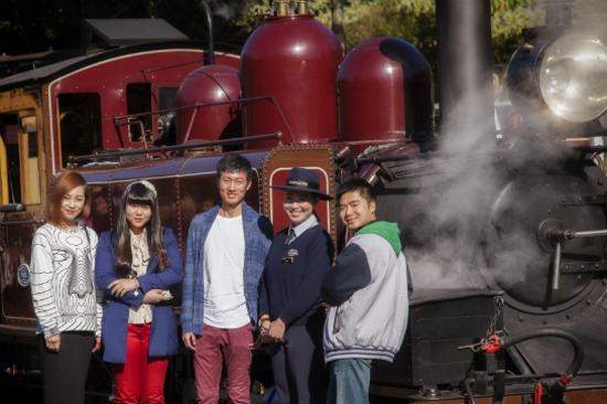 普芬古董蒸氣火車